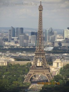 The Eiffil Tower, Paris
