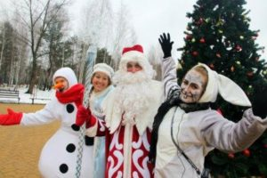 New Year's Day in Belgorod