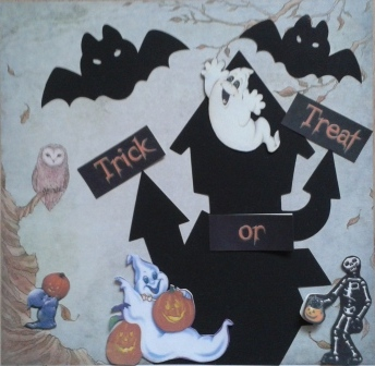 Halloween Scrapbooking activity